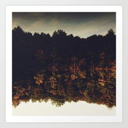 Flipping Autumn Art Print