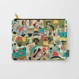 Green Eggs & Ham - Mid-Century Carry-All Pouch