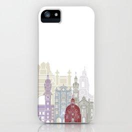 Innsbruck skyline poster iPhone Case