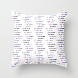 Motto of belize - Sum umbra floreo. Throw Pillow