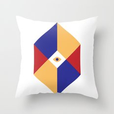 S Q | Eye Throw Pillow