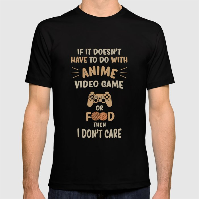 Anime Video Game Food Print Japan Cookie Tee Gift Idea T Shirt By Cupcakedesigns