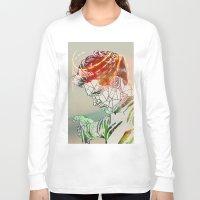 niall Long Sleeve T-shirts featuring Geometric Niall by Peek At My Dreams