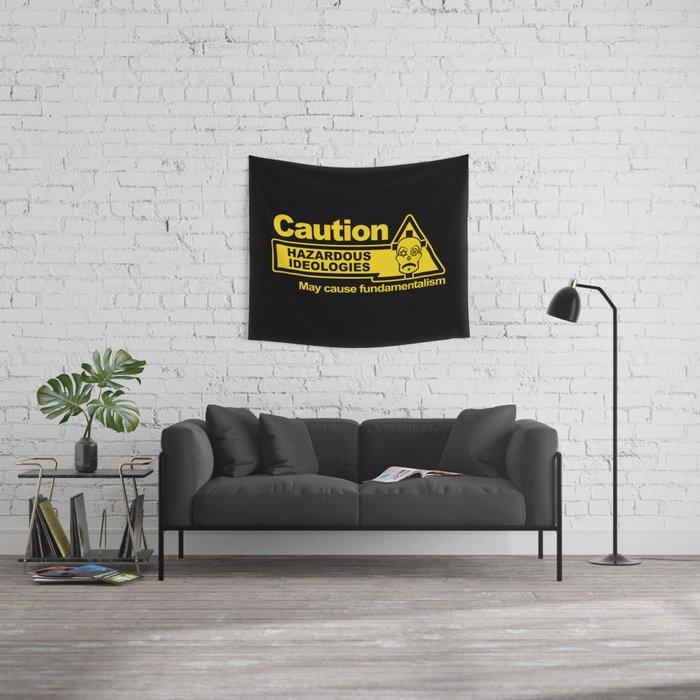 Hazardous Ideologies Wall Tapestry