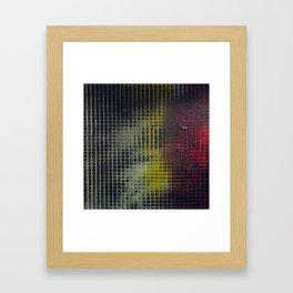 Gridlock Framed Art Print