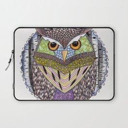 Poorly Camouflaged Owl Laptop Sleeve