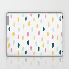Colorful rain dot Laptop & iPad Skin