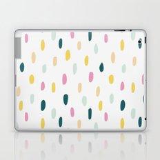 Colorful rain dot Laptop & iPad Skin
