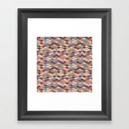 Retro Orchard Framed Art Print