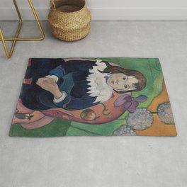 Paul Gauguin - Mr Loulou (Louis Le Ray) Rug