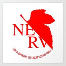 Nerv Art Print