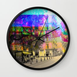 If it weren't for the process would the result be? Wall Clock