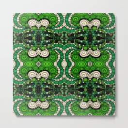 art retro pattern Metal Print