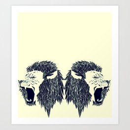 leon leon Art Print