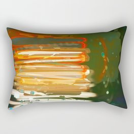 Glitches and Ghosts Rectangular Pillow