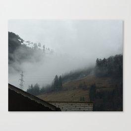 Swiss Fog Canvas Print
