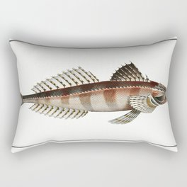 Graswang in Bavaria Riverbed Linder Germany Rectangular Pillow