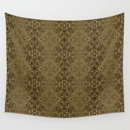 Matrix Recall - Abstract Gothic Vintage Wall Tapestry