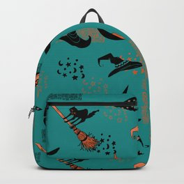 Halloween Witch Hats Backpack