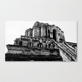 Ancient Elephant Temple Canvas Print