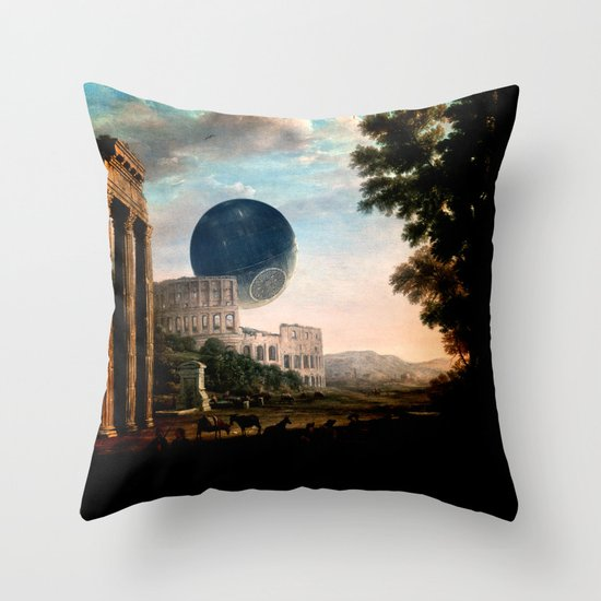 Death Star Throw Pillow