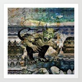 Dagon Art Print
