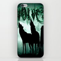 wolves iPhone & iPod Skins featuring WolveS by shannon's art space