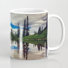 Mountain Reflections Mt Rainier Washington Mug