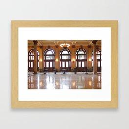 Main Street Station in Richmond, VA Framed Art Print