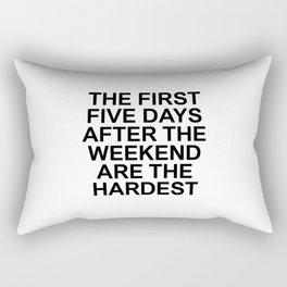 FACTS 001 Rectangular Pillow
