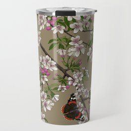 Blossoms and Butterflies Travel Mug