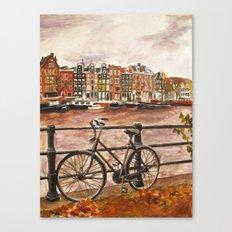 Going Dutch (red) Canvas Print