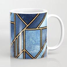 Blue City Mug