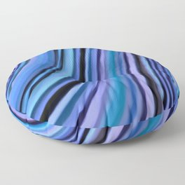 Mineralicious~Blue Agate Floor Pillow