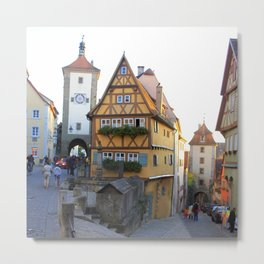 Rothenburg20150902 Metal Print