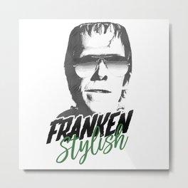 Franken Stylish Metal Print