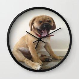 Hank is Yawning   Wall Clock