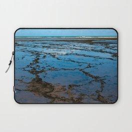 Low tide at the Atlantic coast in Bahia, Brazil | Travel photography | Fine art photo print.  Laptop Sleeve