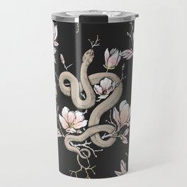 Magnolia and Serpent Travel Mug