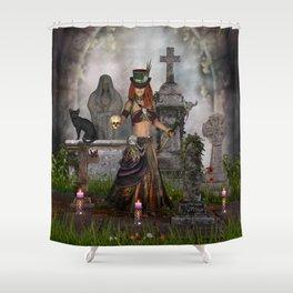 Maman Brigitte Shower Curtain