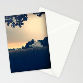 Summer on my parents' farm. Stationery Cards