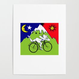 Lsd Bicycle Poster