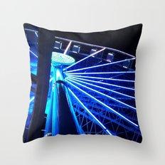 Great Wheel Throw Pillow