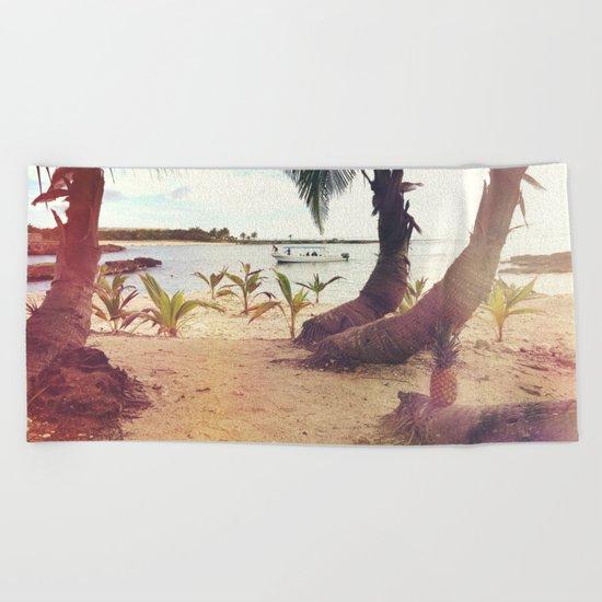 Tropical Wish Beach Towel