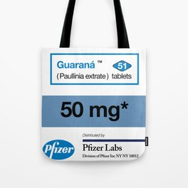 Kitchen Posters - Viagra/Guarana Tote Bag