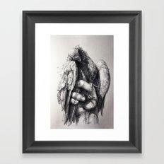 Hand of Freedom Framed Art Print