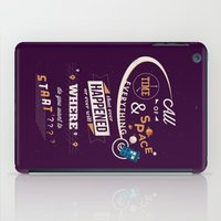 doctor who iPad Cases featuring Time and Space by Risa Rodil