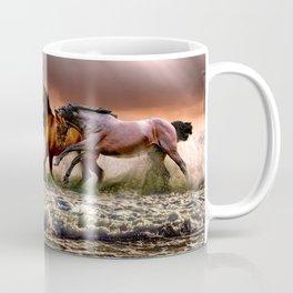 Runing Horses Coffee Mug
