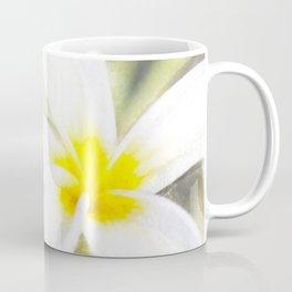 Plumeria Watercolor Coffee Mug