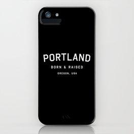 Portland - OR, USA (Arc) iPhone Case